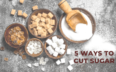 5 Ways to Cut Sugar in Your Diet
