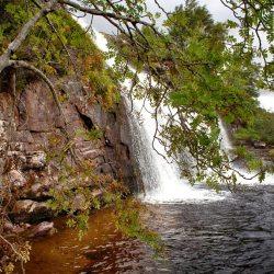 Upper Ardessie Falls