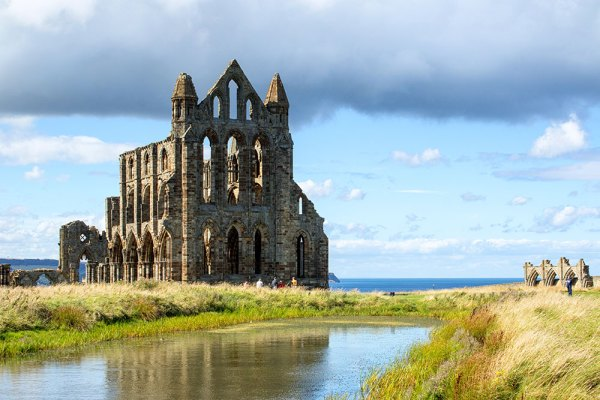 Whitby Abbey and Lake