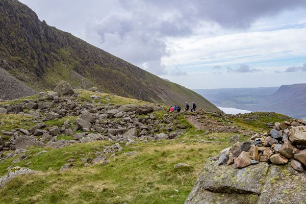 Walkers at Hollow Stones