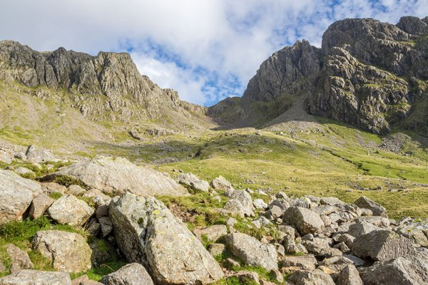 Scafell from Hollow Stones on way back