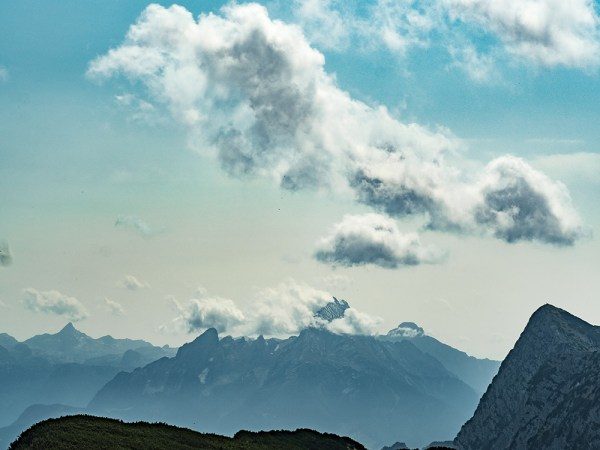 Clouds and Mountains from Salzburger Hochthron