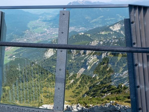 View at end of top AlpspiX platform