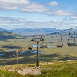 Glencoe Mountain Ski Lift