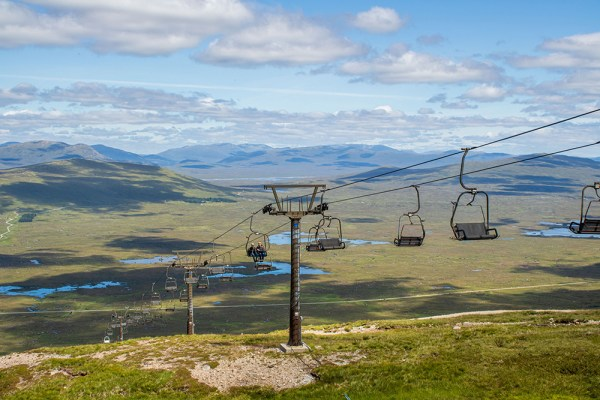 Glencoe Mountain Ski Lift