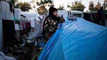 حریق و شورش در اردوگاه لسبوس یونان