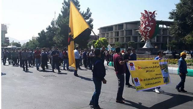 شش کارگر هپکو همچنان در بازداشت هستند