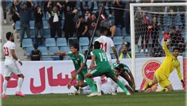 مسابقه فوتبال عراق - ايران
