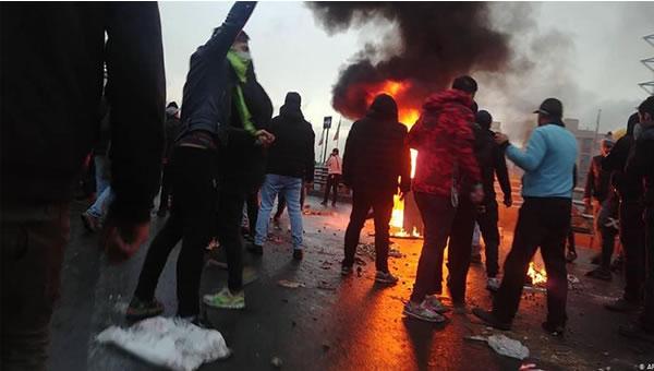 اعتراضات آبان ماه ايران