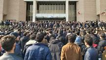 اعتراض دانشجويی در دانشگاه شريف