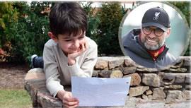 دنیای فوتبال تحت تاثیر نامه نوجوان ده ساله منچستری به یورگن کلوب مربی لیورپول