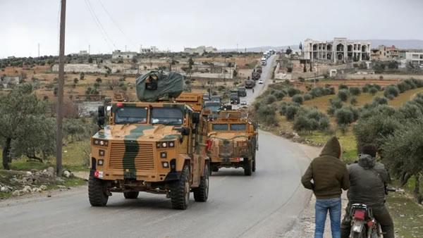 استقرار بی سابقه ی نيروهای نظامی ترکيه در ادلب