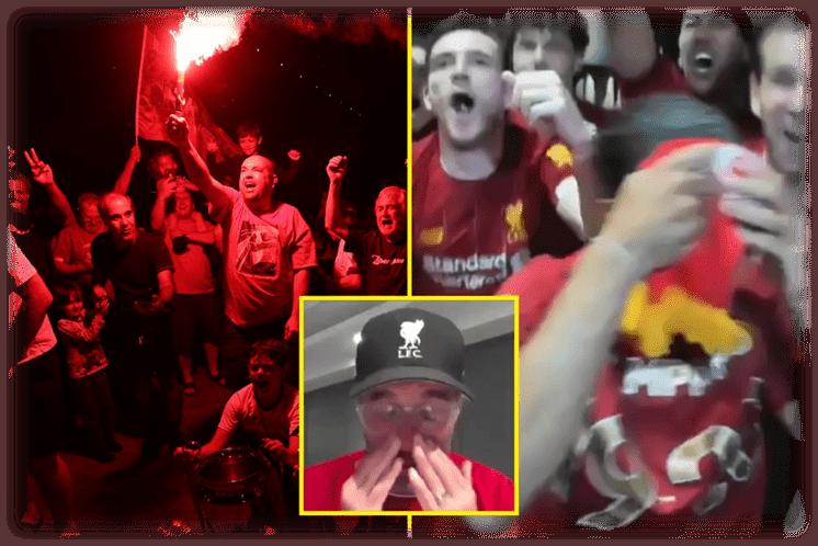 Liverpool win Premier League title LIVE REACTION: Klopp's tears at ...