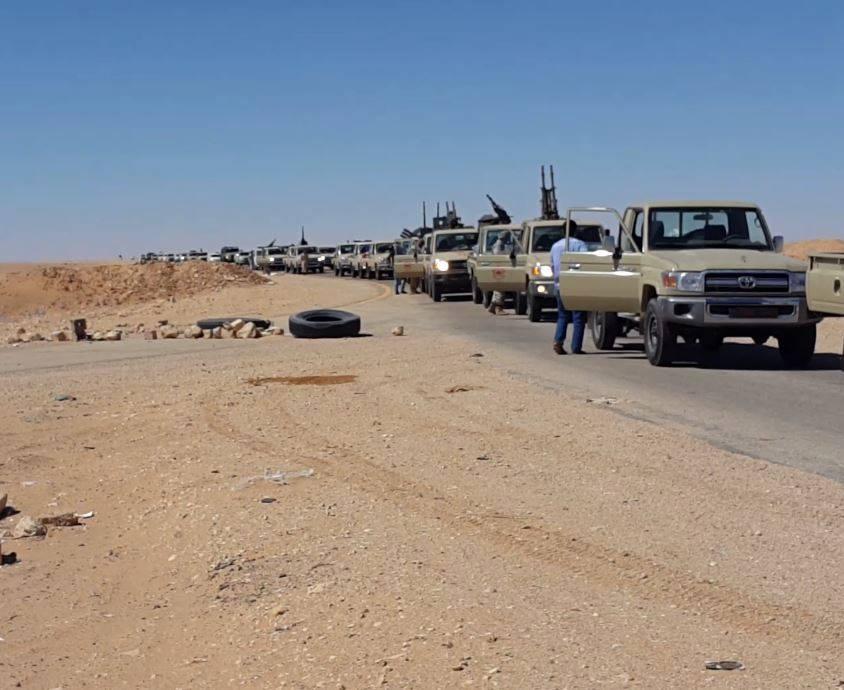 بالصور.. الجيش الليبي يسيطر على 4 حقول نفطية بعد هجوم داعش