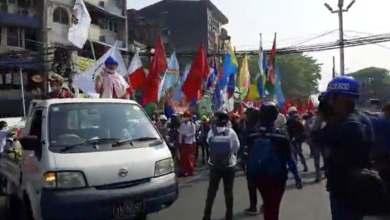 Photo of شرطة ميانمار تصعّد قمعها للاحتجاجات المناهضة للانقلاب