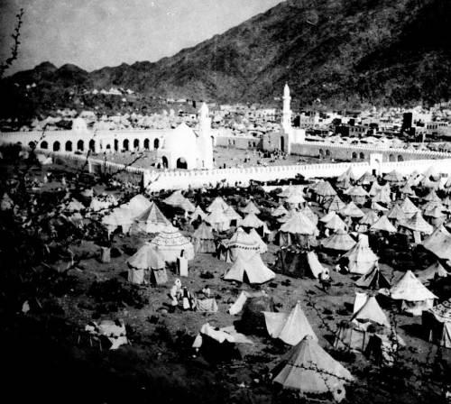 mekah masjidil haram tempo jaman dulu