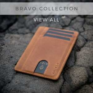 AKIELO BRAVO Wallet Collection Minimalist Compact Card holder Wallet