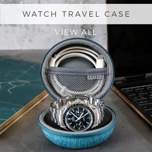 AKIELO Watch Travel Case Collection