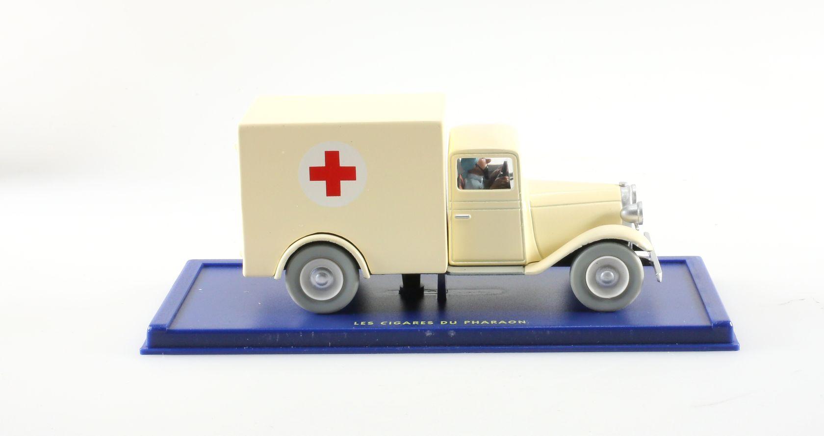 L'ambulance de l'asile, Les cigares du pharaon, Années 30, 1/43