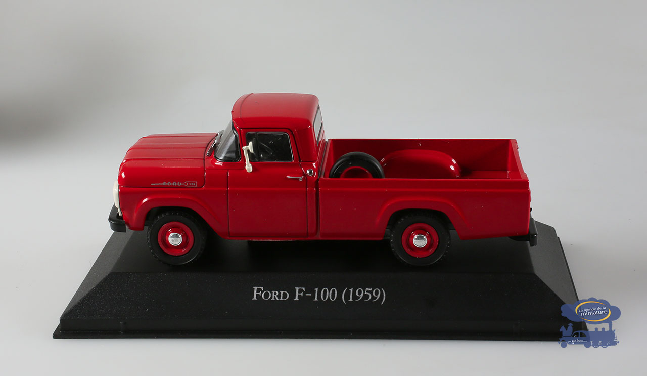 Pick-up Ford F-100 (1959), 1/43