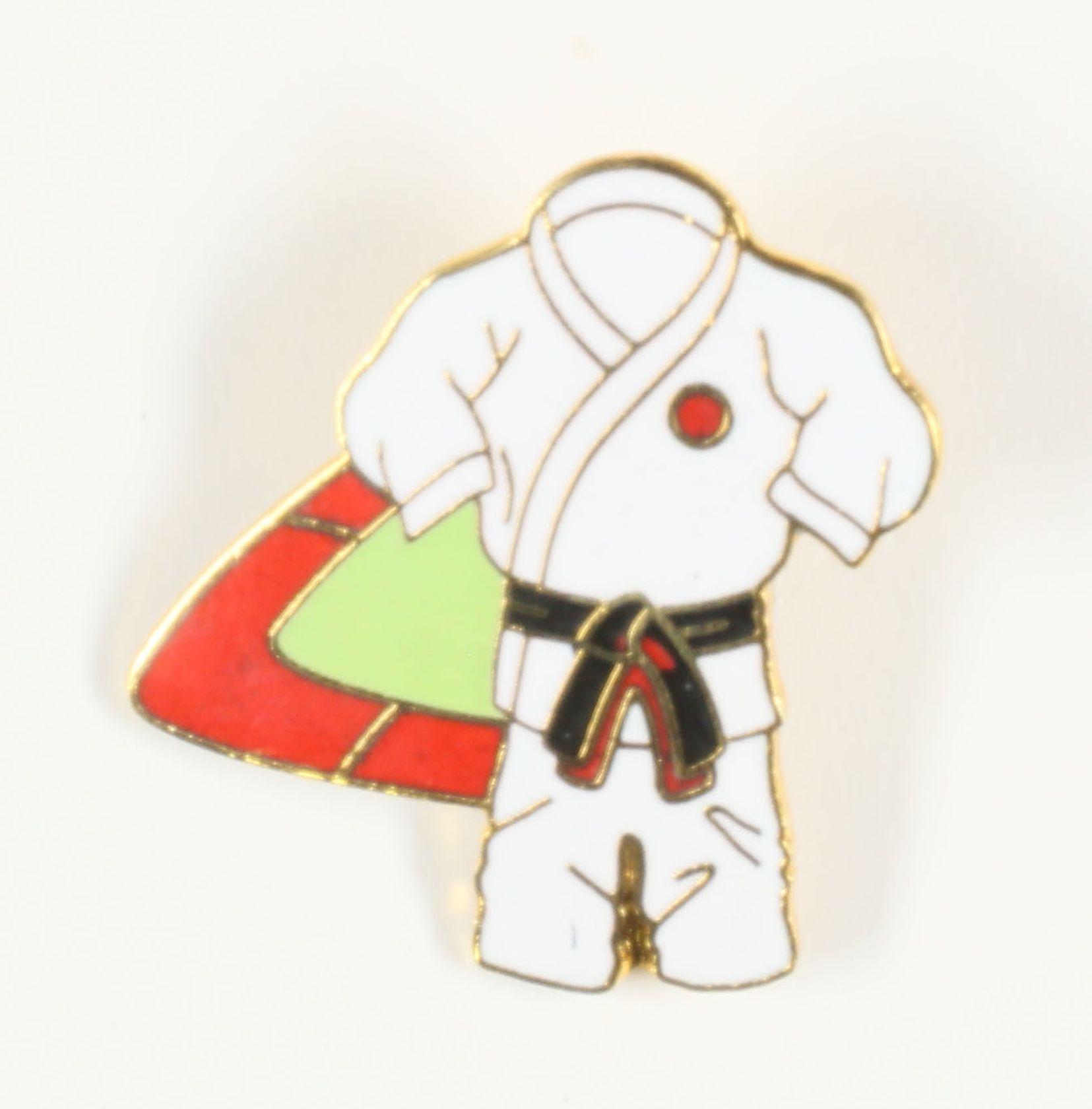 Kimono ceinture marron / noire
