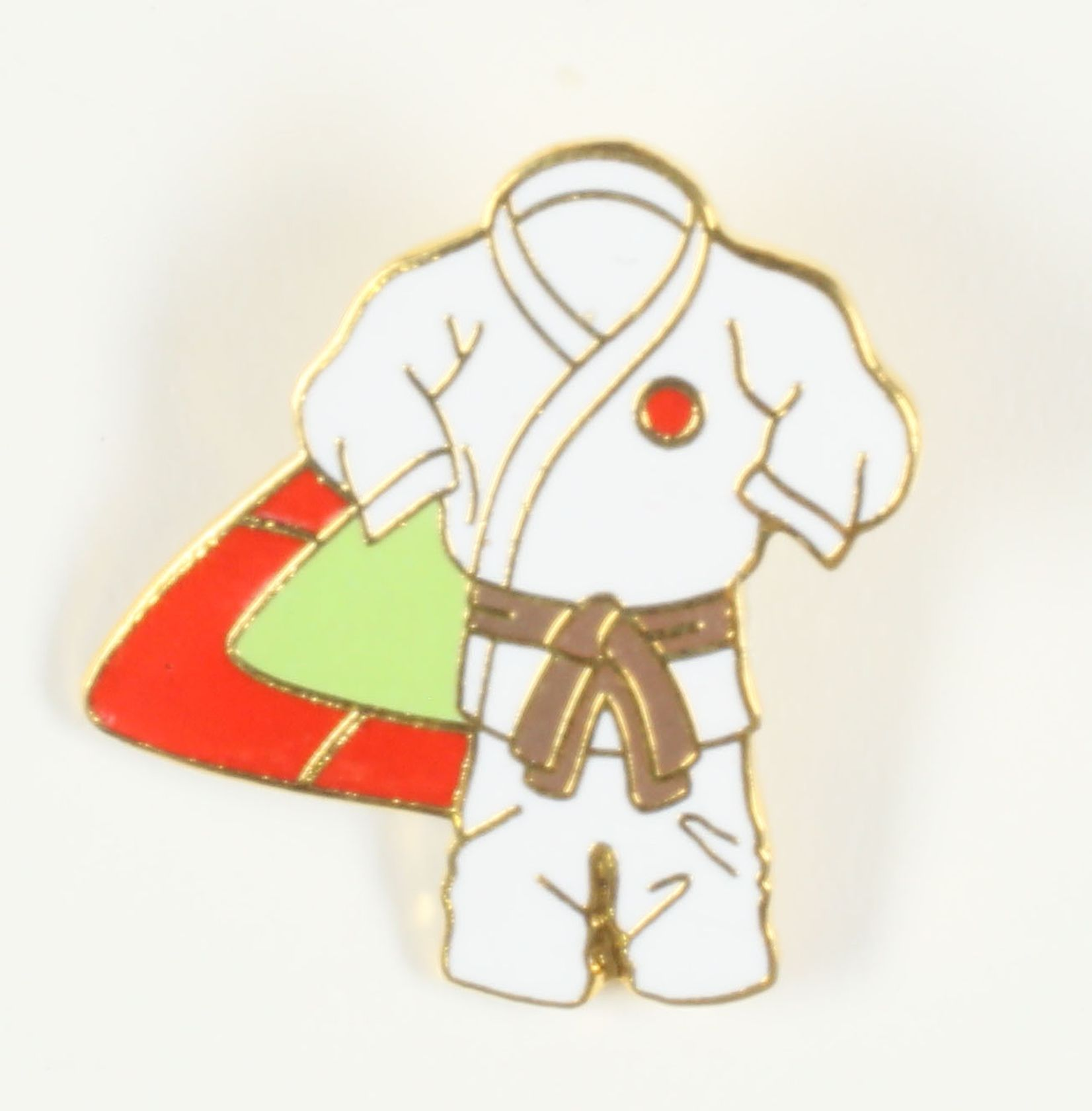 Kimono ceinture marron