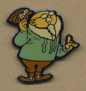 Blondin & cirage, le vieux professeur