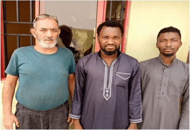 Two Nigerians And Lebanese Nabbed For Human Trafficking