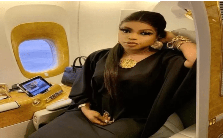 Bobrisky Shares Photo of Her 87-year-old Grandmother
