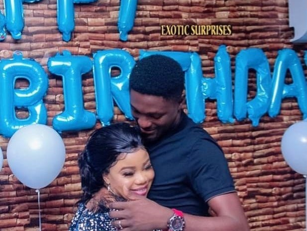 Checkout Beautiful Photos From Nollywood Actor, Adeniyi Johnson's Surprise Birthday Party In Lagos