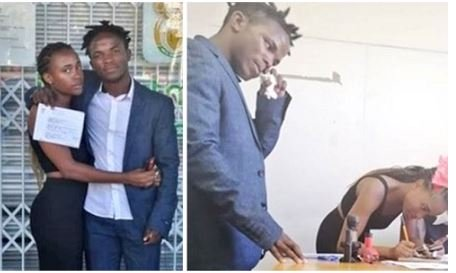 Secondary Students Got Married After Dating For Just Two Weeks (See Photos)