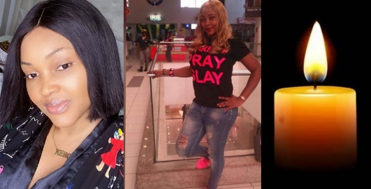 Nollywood Actress, Mercy Aigbe Is Heartbroken After Losing Younger Sister