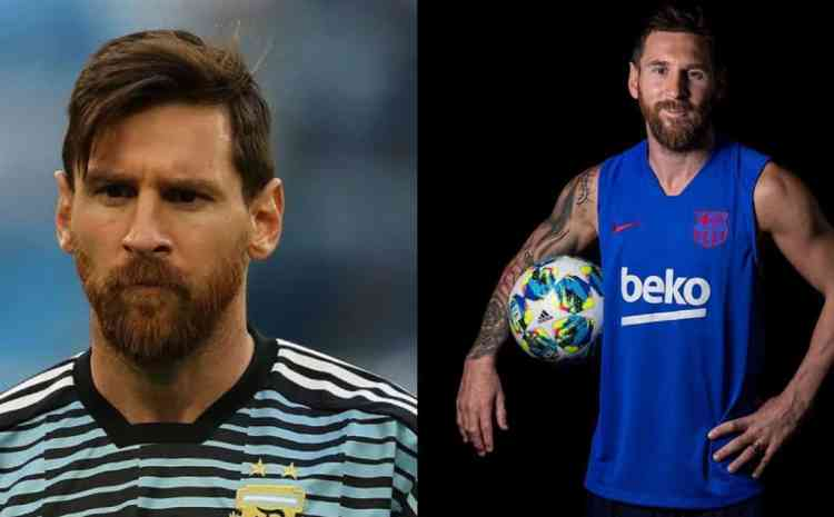 Messi becomes almost unrecognizable after shaving his beards (photos)