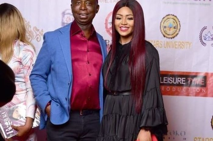 """""""If You Abort That Baby, I Will Pray For God To Take Your Life"""" – Man Warns Regina Daniels"""