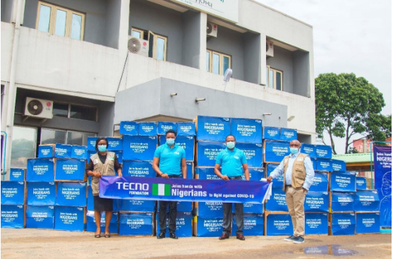 TECNO Foundation Supports Health Care Workers in The Fight Against COVID-19, Donates Medical Supplies to the Nigeria Centre for Disease Control