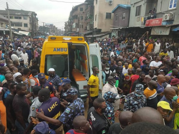 5f09bbaf253d8 - Replace: Dying toll from Lagos constructing collapse rises to a few