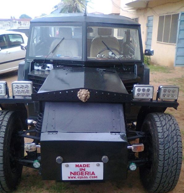 EdHD ujX0AA9 2Q - See What Gifted Nigerian Engineers Used to Construct Bat-Cell Car (Images)