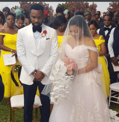 Photos from Linda Ejiofor and Ibrahim Suleimans white wedding lailasnews 2 401x410 1 - See Lovely Maternity Images of Linda Ejiofor