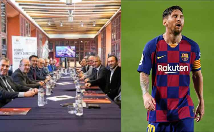 War in Camp Nou as Barcelona reveal what they will do to Messi if he joins Man City