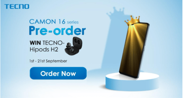 How to Pre-Order the Camon 16 Premier