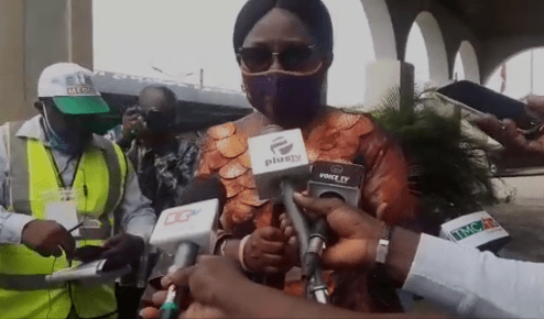 I was not injured at polling centre, says Mrs. Akeredolu