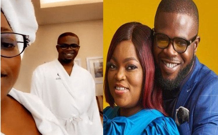 Funke Akindele Shares Photos And Video From Her Romantic Vacation With Husband