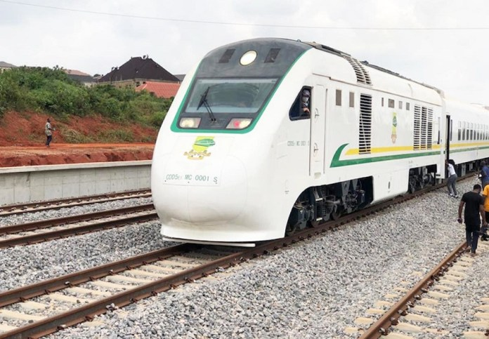 The New railway runs from the port of Lagos which serves as Nigeria's biggest population centre and economic hub to Ibadan, the regional capital of Oyo.