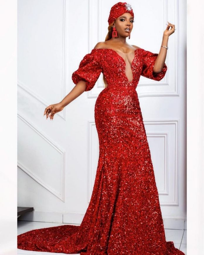 Annie Idibia - How Nigerian Female Celebrities Slay For Fans On Valentine Day