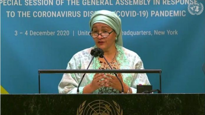 10 African Women Who Have Made The World Proud With Their Popular Achievements - Amina J Mohammed