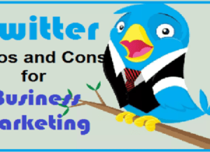 Twitter Pros and Cons for Online Marketing Business
