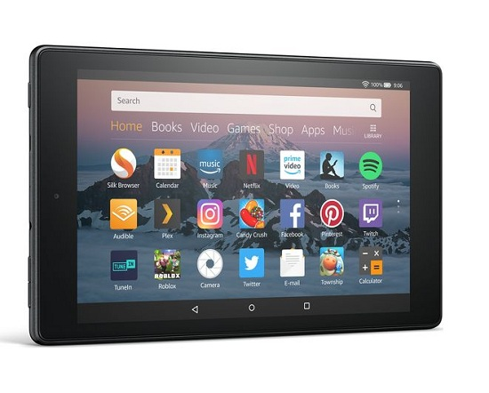 Amazon Fire HD 8 Tablet - Amazon Fire HD 8 with 400GB MicroSD Card Review