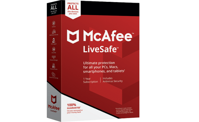 McAfee Livesafe - McAfee Livesafe Security Suite free Download for PC