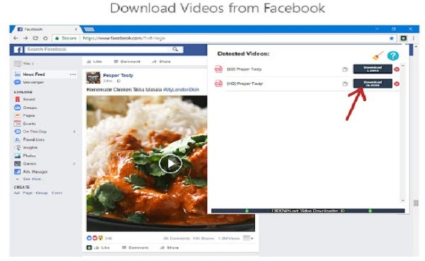 10 Steps to Download Facebook Video and GIFs for Keep