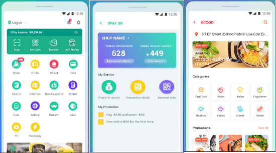 OPay Oride OPay QR Airtime Transfer more Apps on Google Play - How to use Opay App for International Money Transfer Services